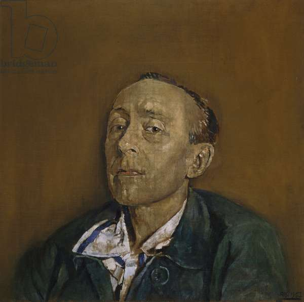 Portrait of the Hon. Edward Sackville-West (1901-65), 1957 (oil on canvas)