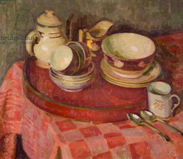 Tea-Things, 1932 (oil on canvas)
