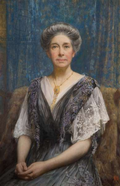 Portrait of Mrs Alfred C. Osler, 1917-18 (oil on canvas)