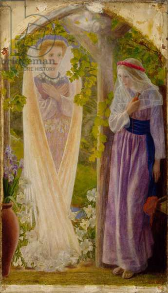 The Annunciation (oil on canvas)