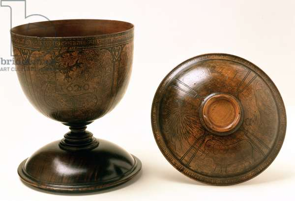 Standing cup, 1620 (wood)