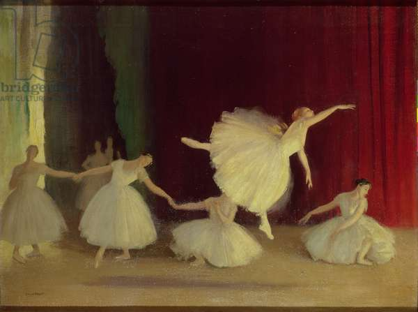 Les Sylphides, 1919 (oil on canvas)