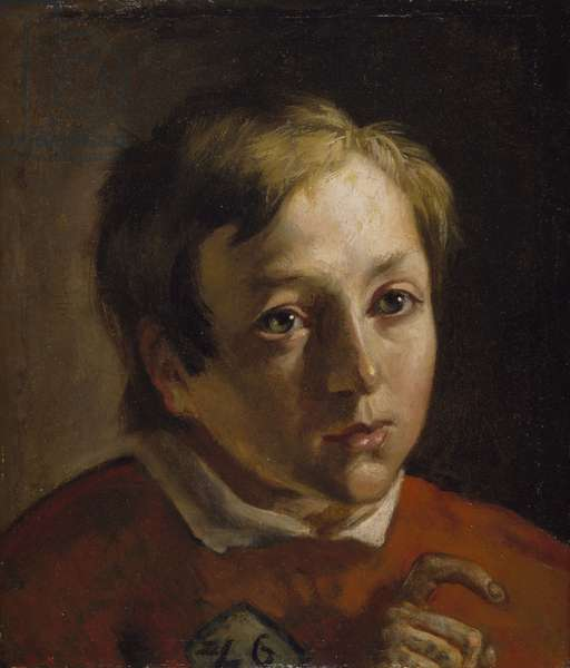 Portrait of a Boy (oil on canvas)