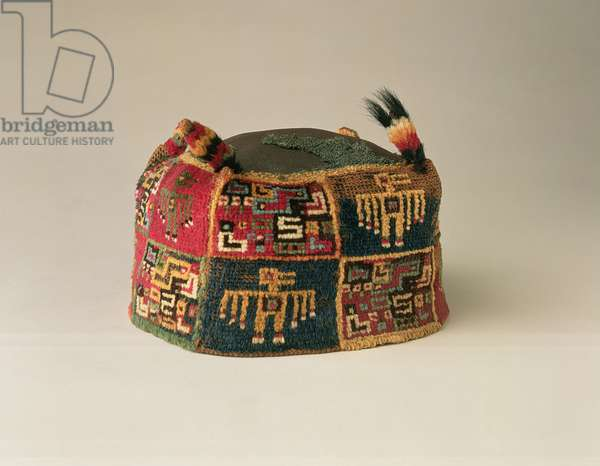 Hat, Huari Culture, AD 600-900 (alpaca wool)