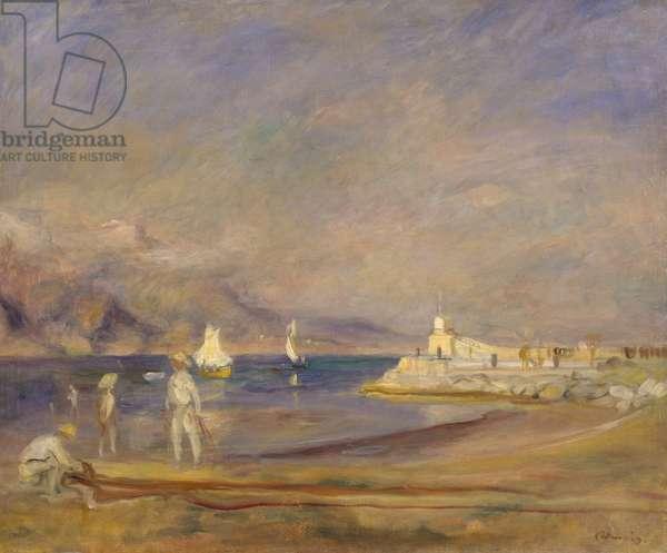 St. Tropez (oil on canvas)