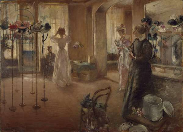 The Hat Shop, 1898 (oil on canvas)