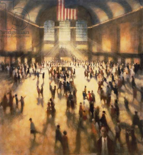 Chance Encounter II, Grand Central, 2006 (oil on canvas)