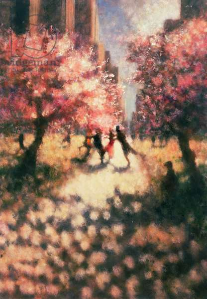 After the Dance, Great Lawn B, 2000 (oil on canvas)