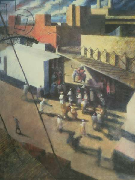 Meatpackers, New York City II, 1986 (oil on canvas)