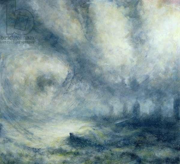 Tempest 1, 2008 (oil on canvas)