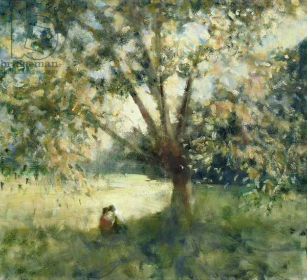 Under the Tree, 2008 (oil on canvas)