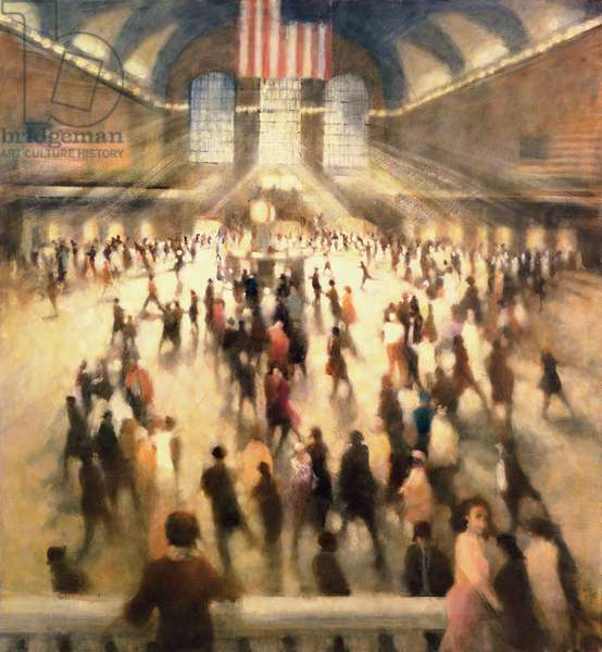 Lucky Strike, Grand Central, 2007 (oil on canvas)
