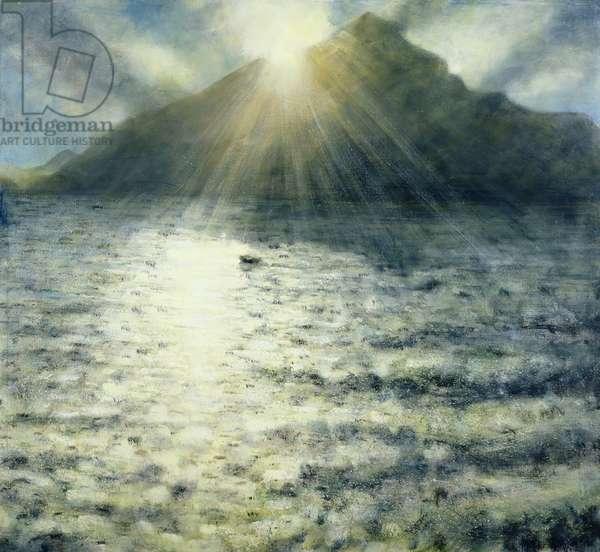 Lake I, 2008 (oil on canvas)