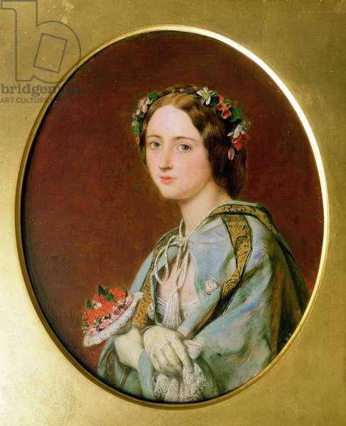 The Opera Box (oil on canvas)