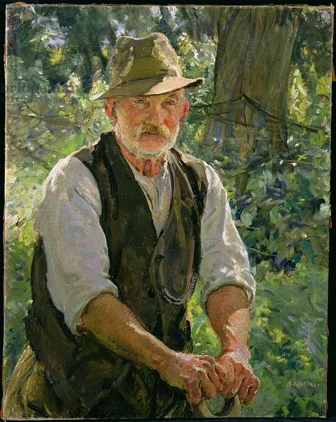 Mr Kersey, Suffolk (oil on canvas)