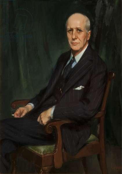 Dr Robert Aitken, 1932 (oil on canvas)