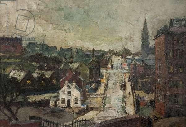 Rochdale, c.1971 (oil on canvas)