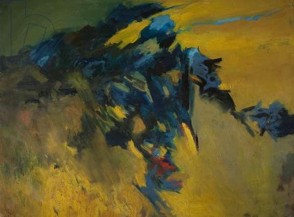Landscape Edge, 1965 (oil on canvas)