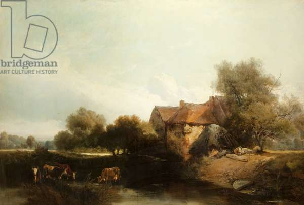 Landscape, 1853 (oil on canvas)