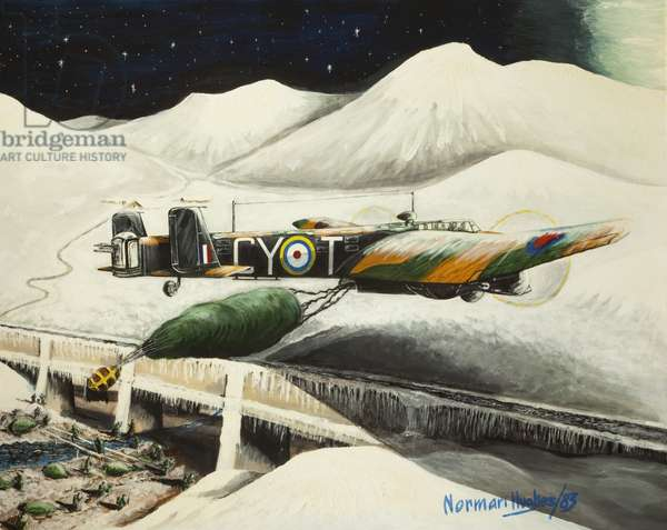 Operation Colossus, 1983 (oil on canvas)