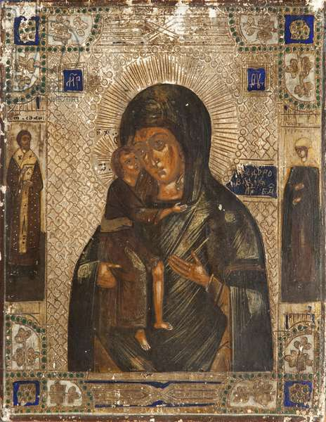 Fedorovskaya, Mother of God (tempera on panel)