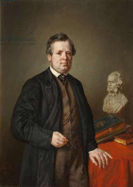 Mr Healey, 1866 (oil on canvas)