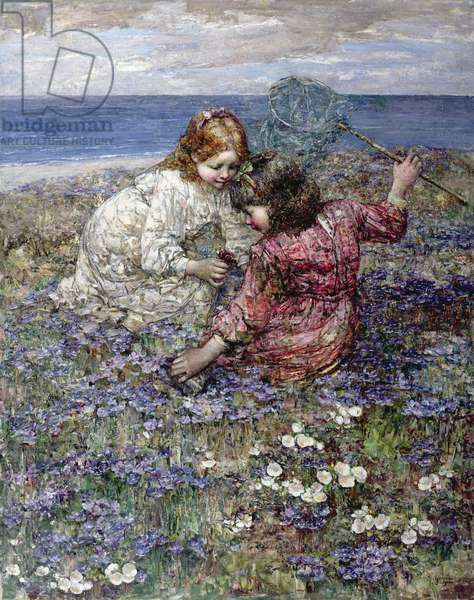 After the Butterfly Chase, 1911 (oil on canvas)