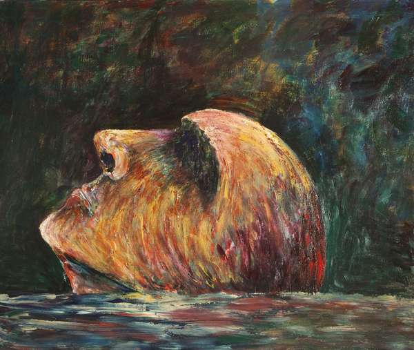 Sanctuary, 1985 (acrylic on canvas)