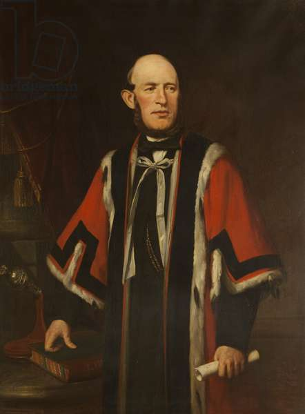 Alderman James Thompson, JP, Mayor of Blackburn from 1865 to 1866, 1866 (oil on canvas)