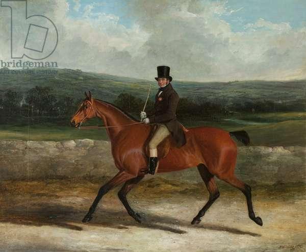 William Ward on Horseback, 1839 (oil on canvas)