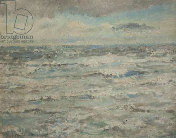 Seascape (oil on canvas)