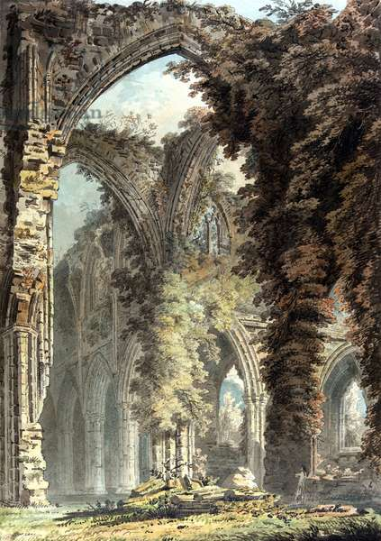 Tintern Abbey, c.1793 (w/c on paper)