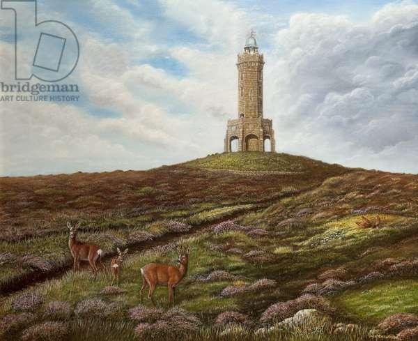 Jubilee Tower, Darwen, c.2009 (oil on canvas)