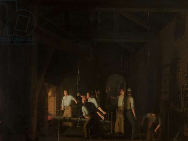 The Forge, 1847 (oil on canvas)