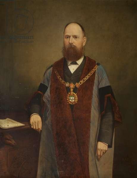 Alderman T. Farrar Baynes (oil on canvas)