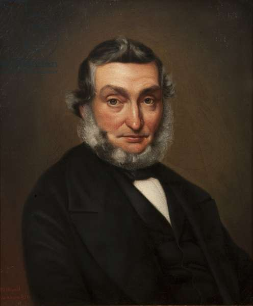 Thomas Butterfield, 1859 (oil on canvas)