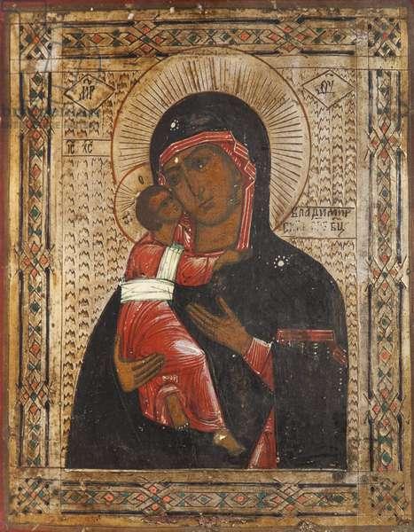 Vladimir Mother of God (tempera on panel)
