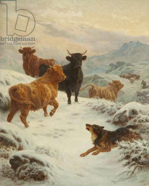 Scotch Rebels, 1887 (oil on panel)