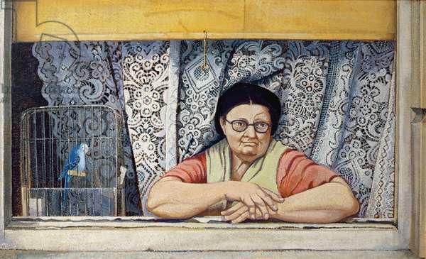 Loneliness, 1966 (oil on board)