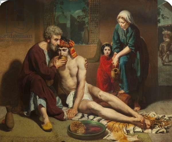 The Good Samaritan, 1857 (oil on canvas)