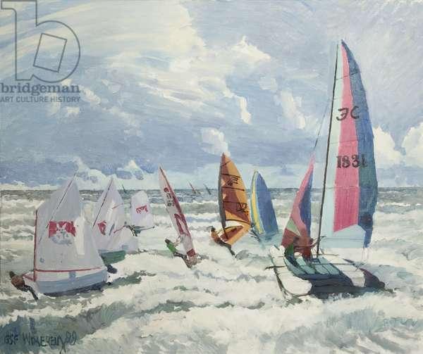 Wimereux, 1999 (oil on canvas)