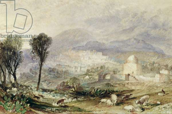 Rachel's Tomb at Ramah, c.1835 (w/c on paper)