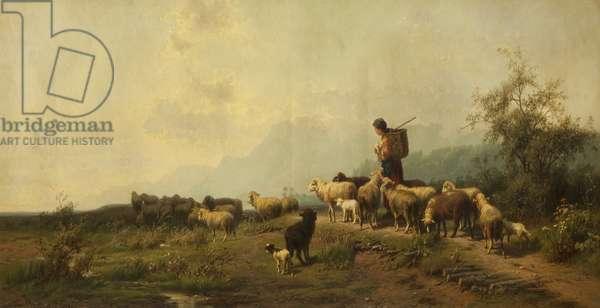 The Shepherd's Return, 1871 (oil on canvas)
