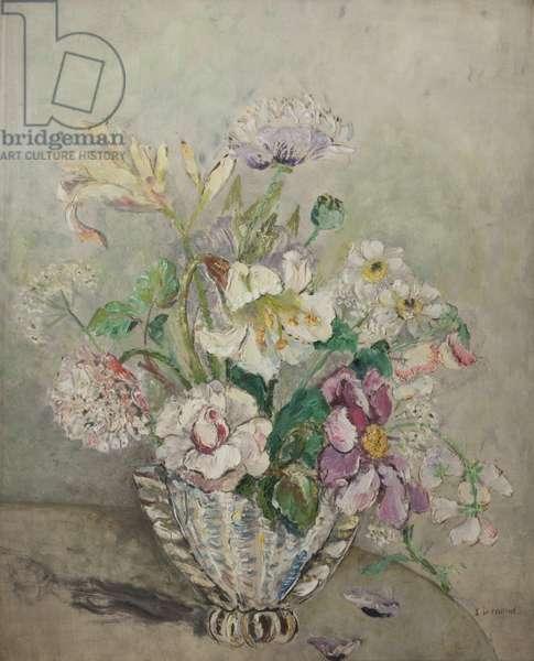 Floral Decoration, c.1940 (oil on canvas)
