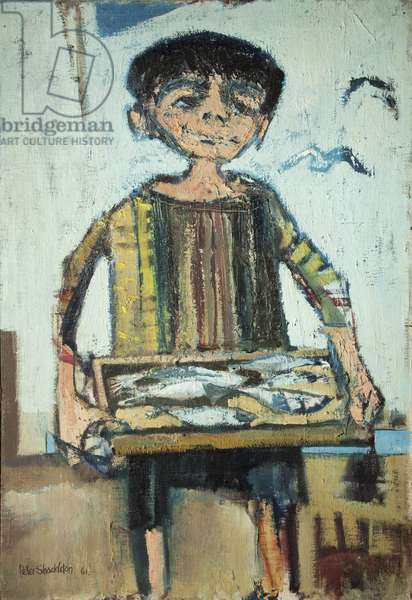 Fish Boy, 1961 (oil on canvas)