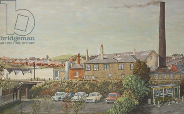 Lumb Bank Farm, 1973 (oil on canvas)