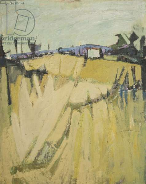 Summer Landscape, 1964 (oil on board)