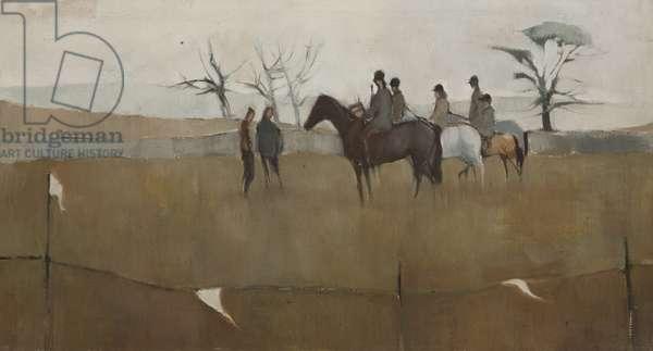Gymkhana, c.1962 (oil on canvas)