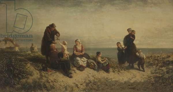 Sand Dunes at Scheveningen, 1886 (oil on canvas)