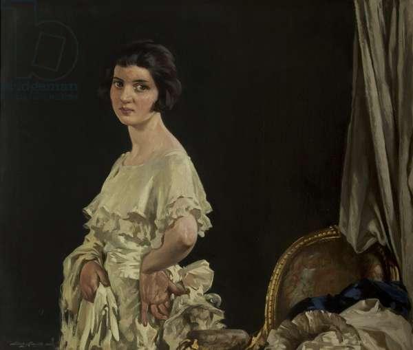 Roberta (oil on canvas)